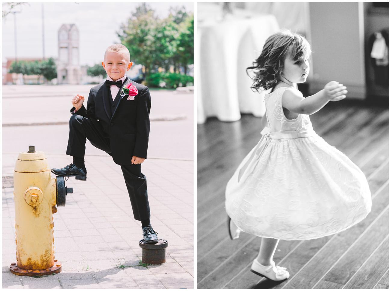 Kids at a Toronto Wedding