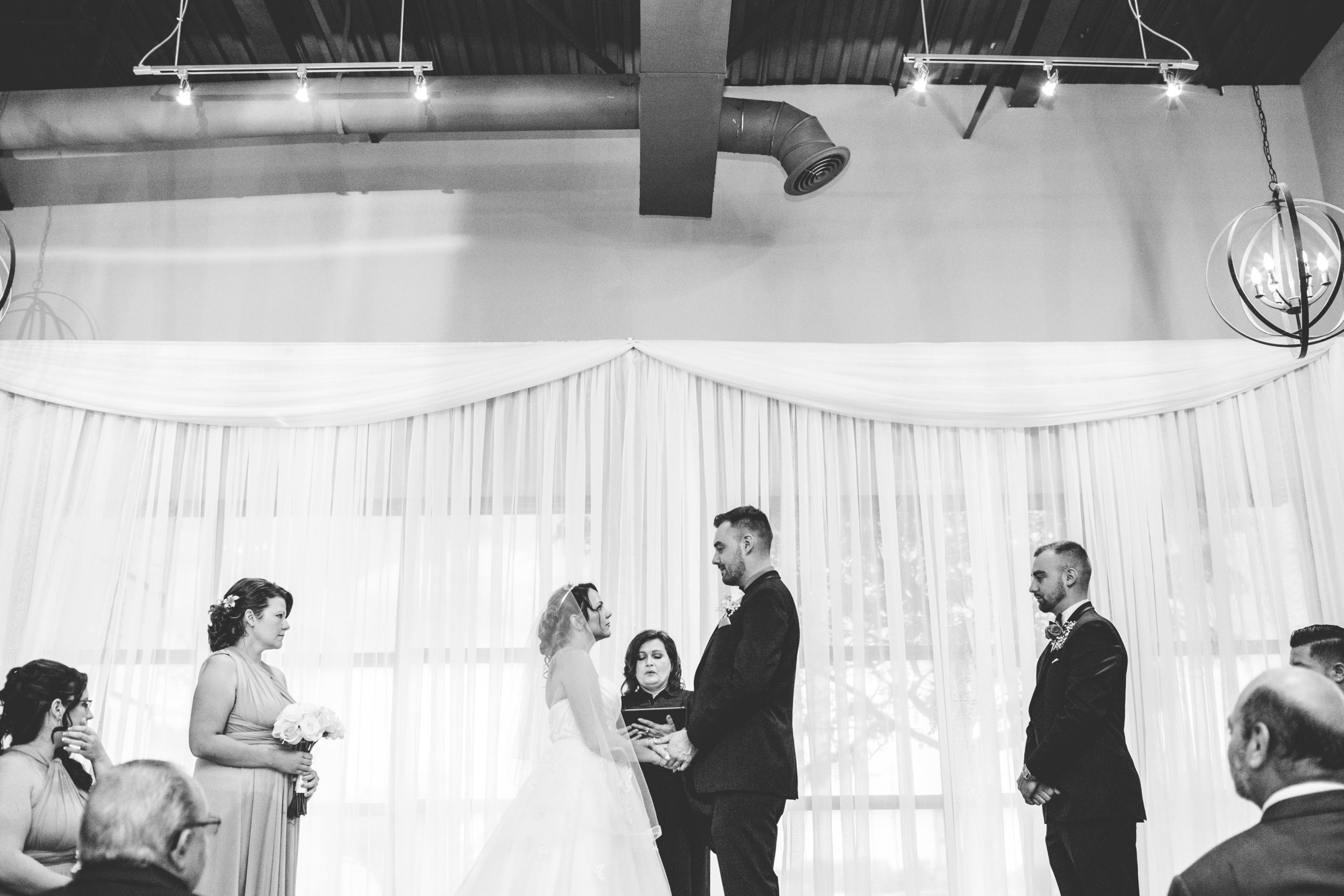 Wedding Ceremony at the Boulevard Room in Toronto