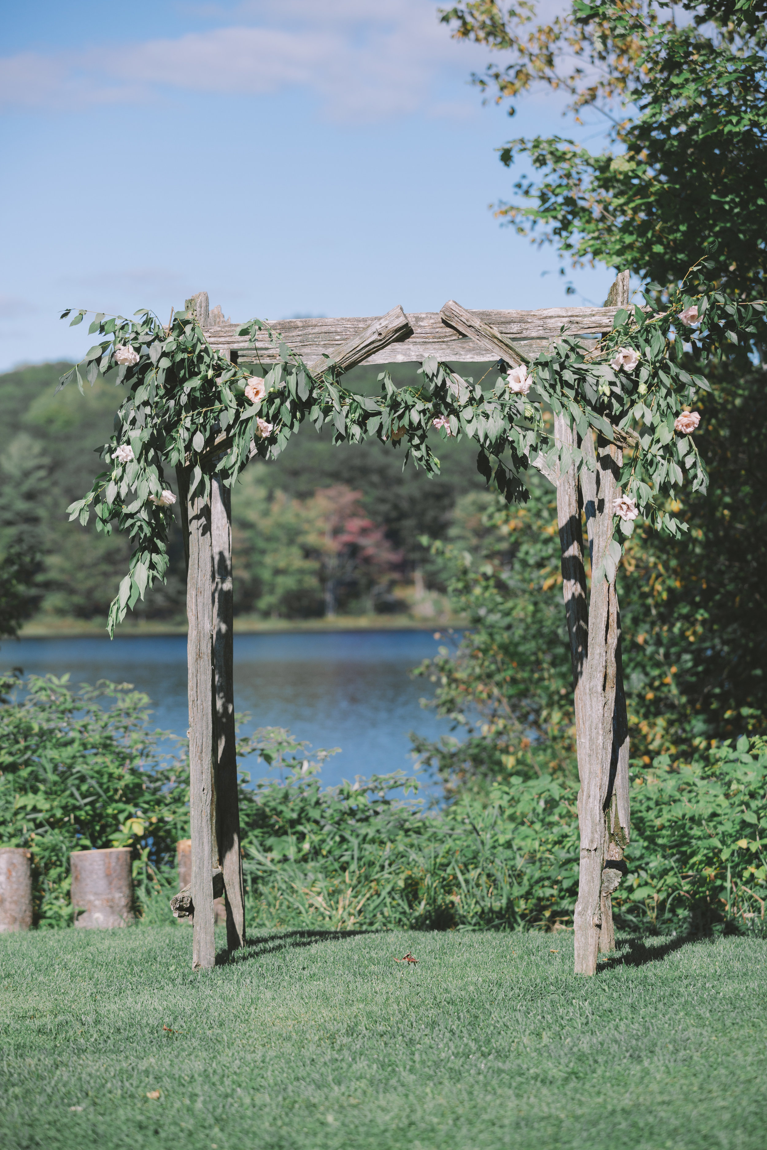 Wedding Archway at Trillium Resort and Spa