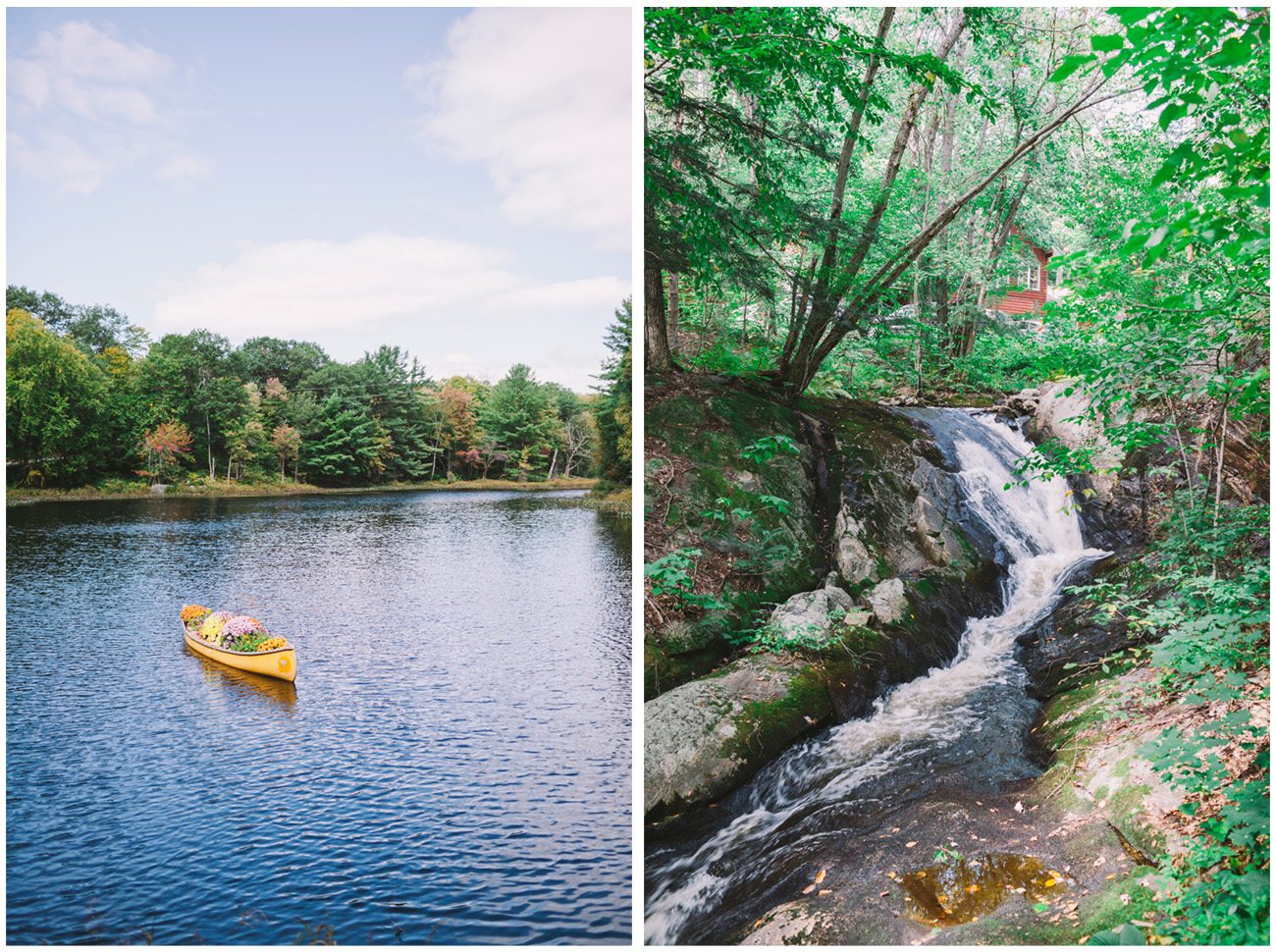 Lake and Creek at Trillium Resort and Spa