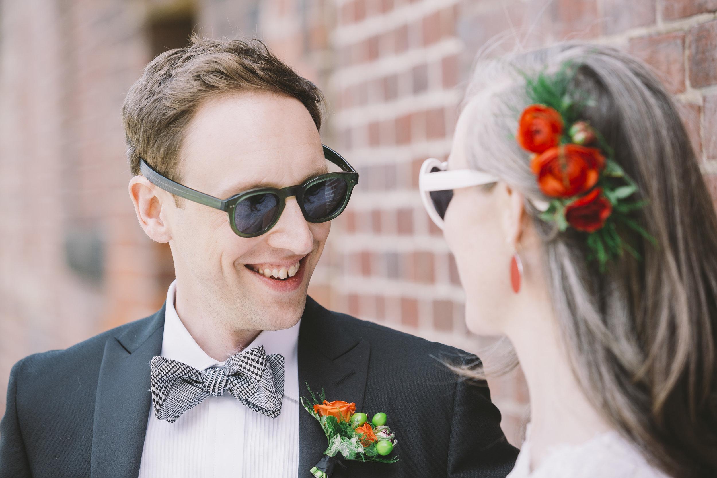 Gladstone Hotel Wedding Photo