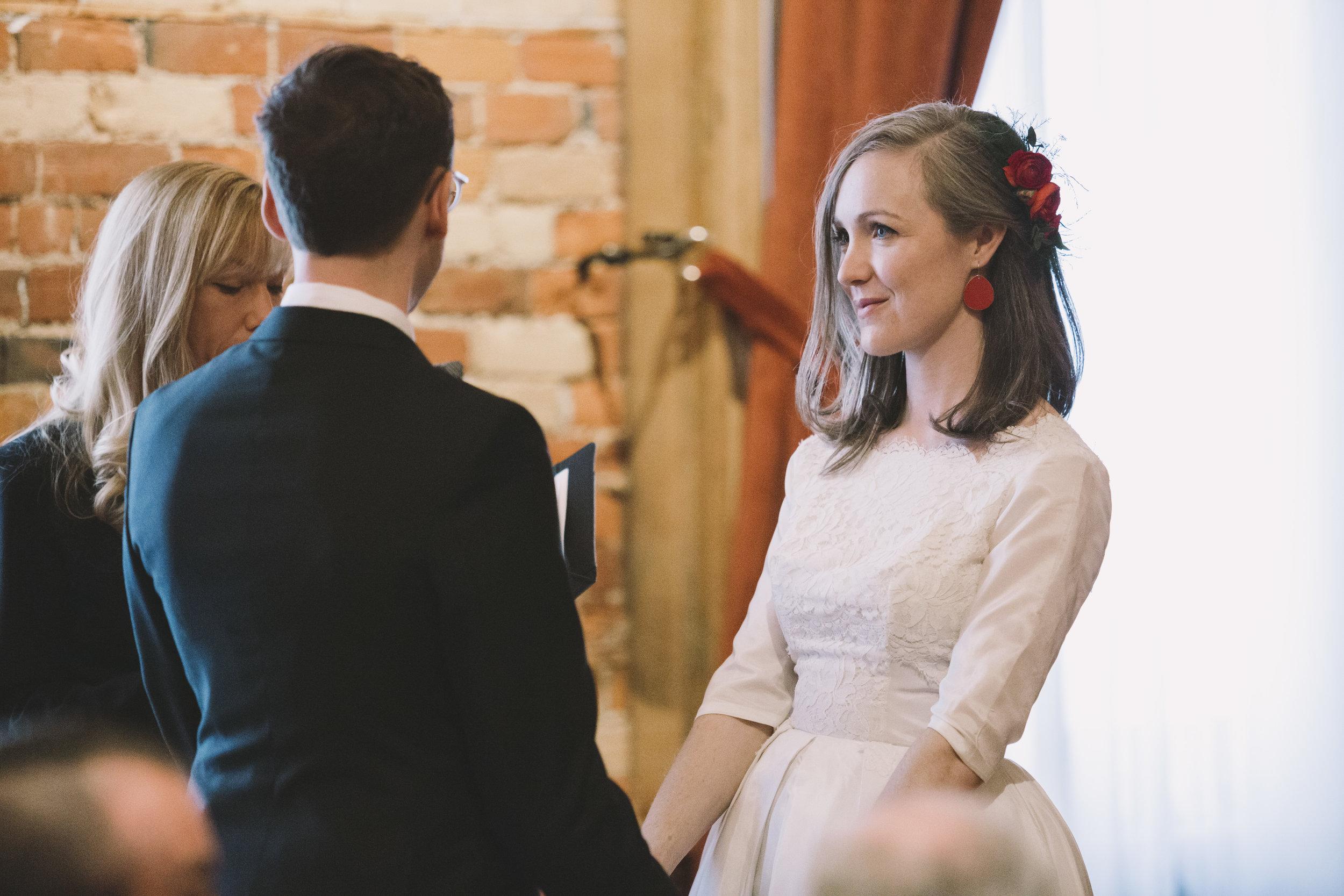 Gladstone Hotel Wedding Ceremony