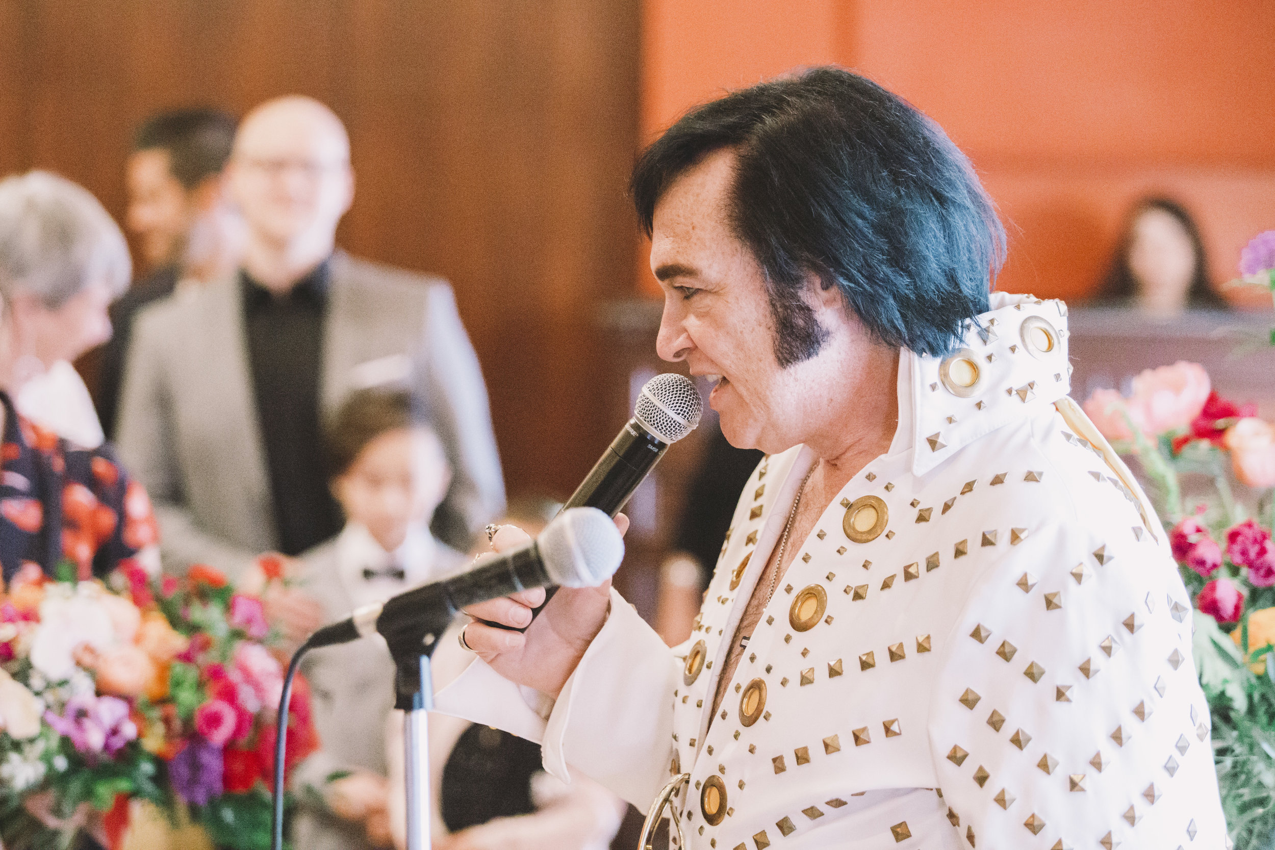 Elvis Impersonator at Toronto Wedding
