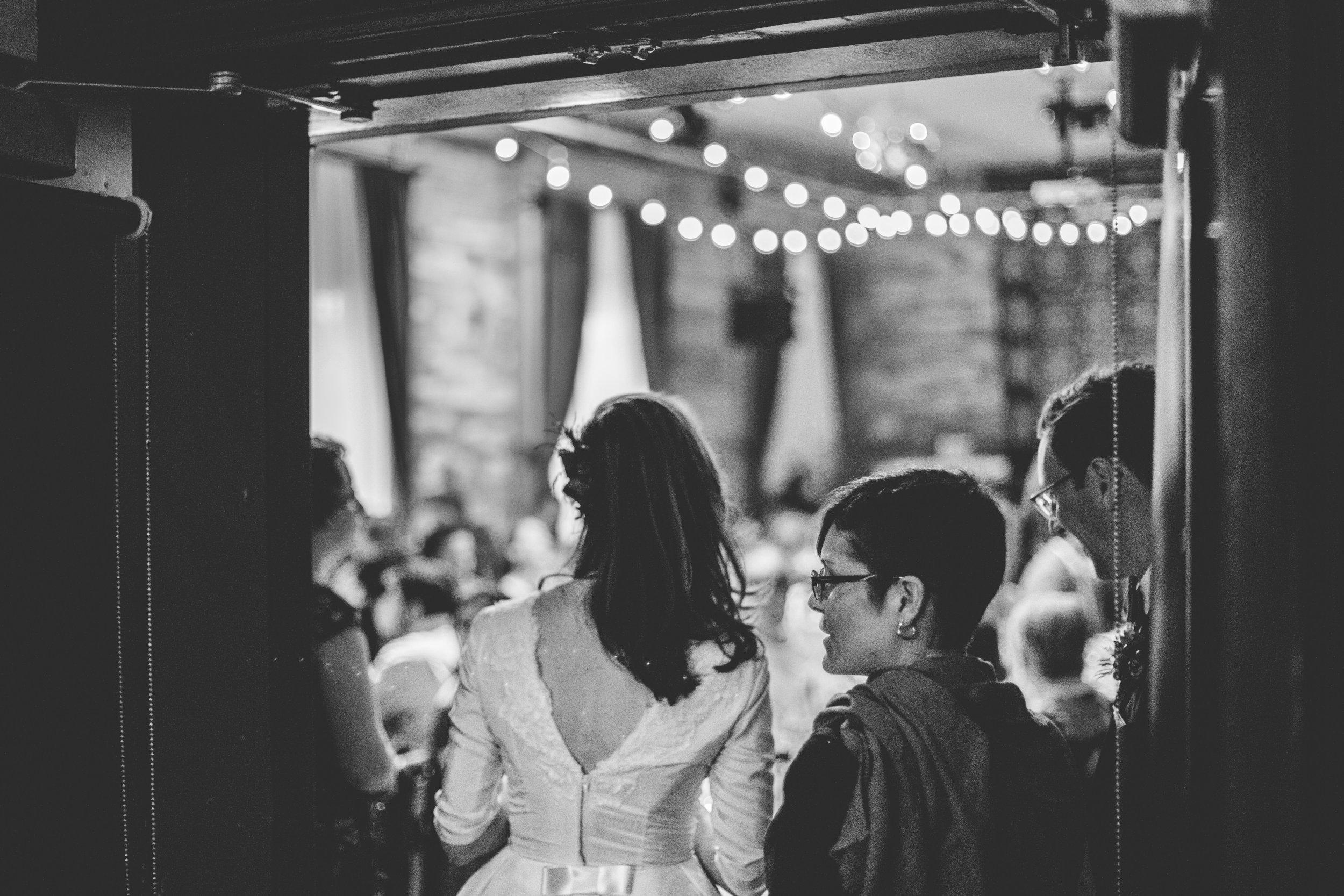 Gladstone Hotel Wedding Reception Decor