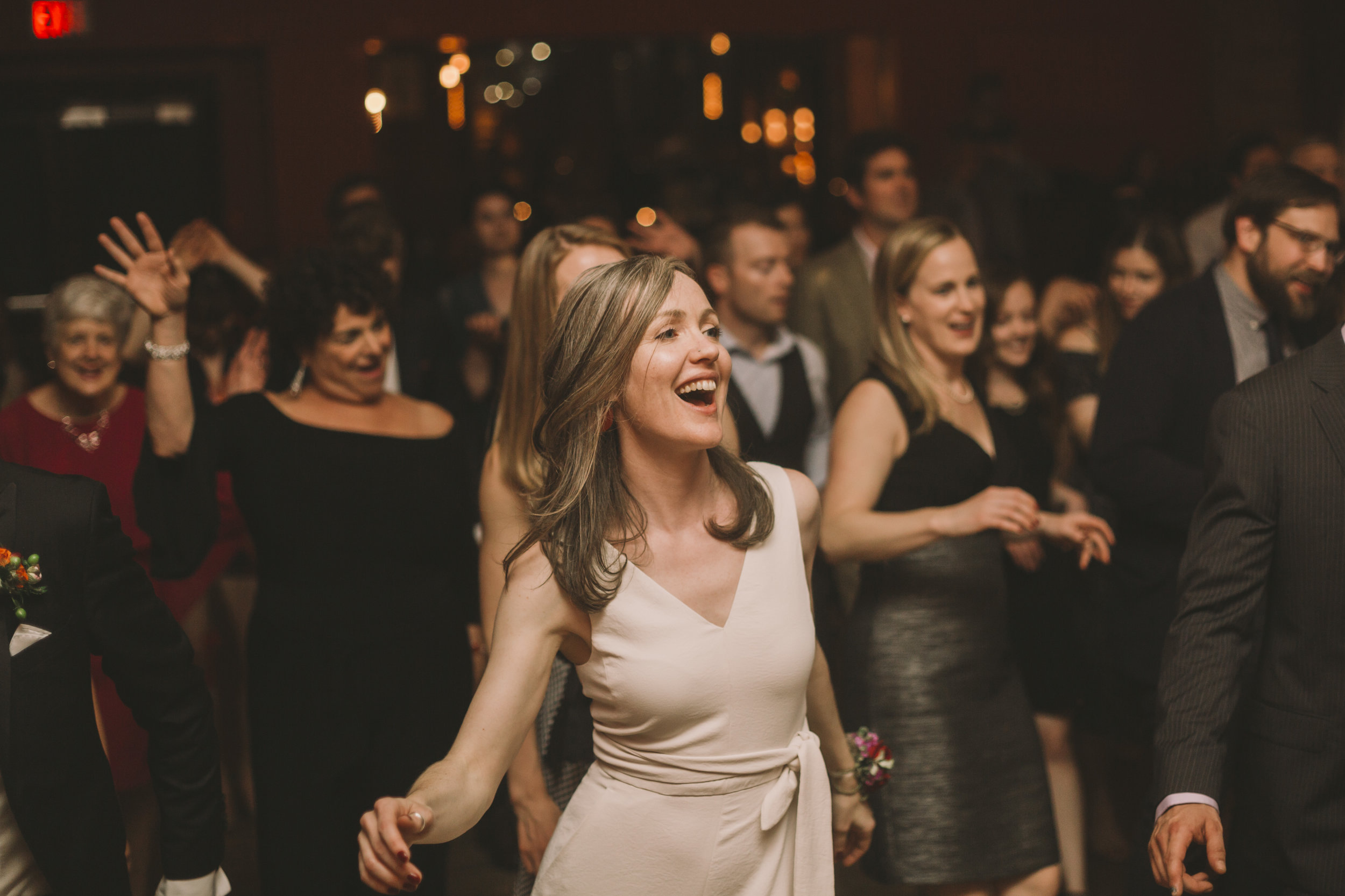 Dancing at the Gladstone Hotel
