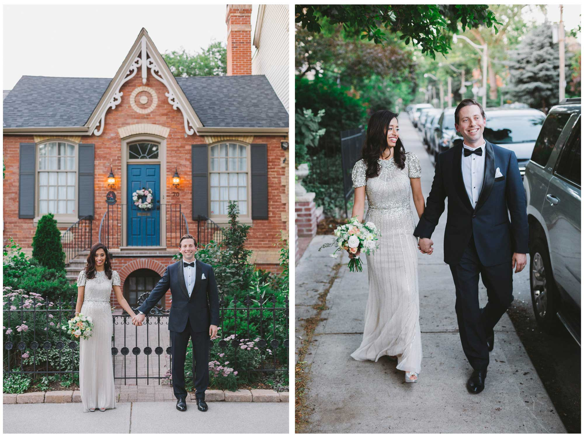 Newly weds in Cabbagetown