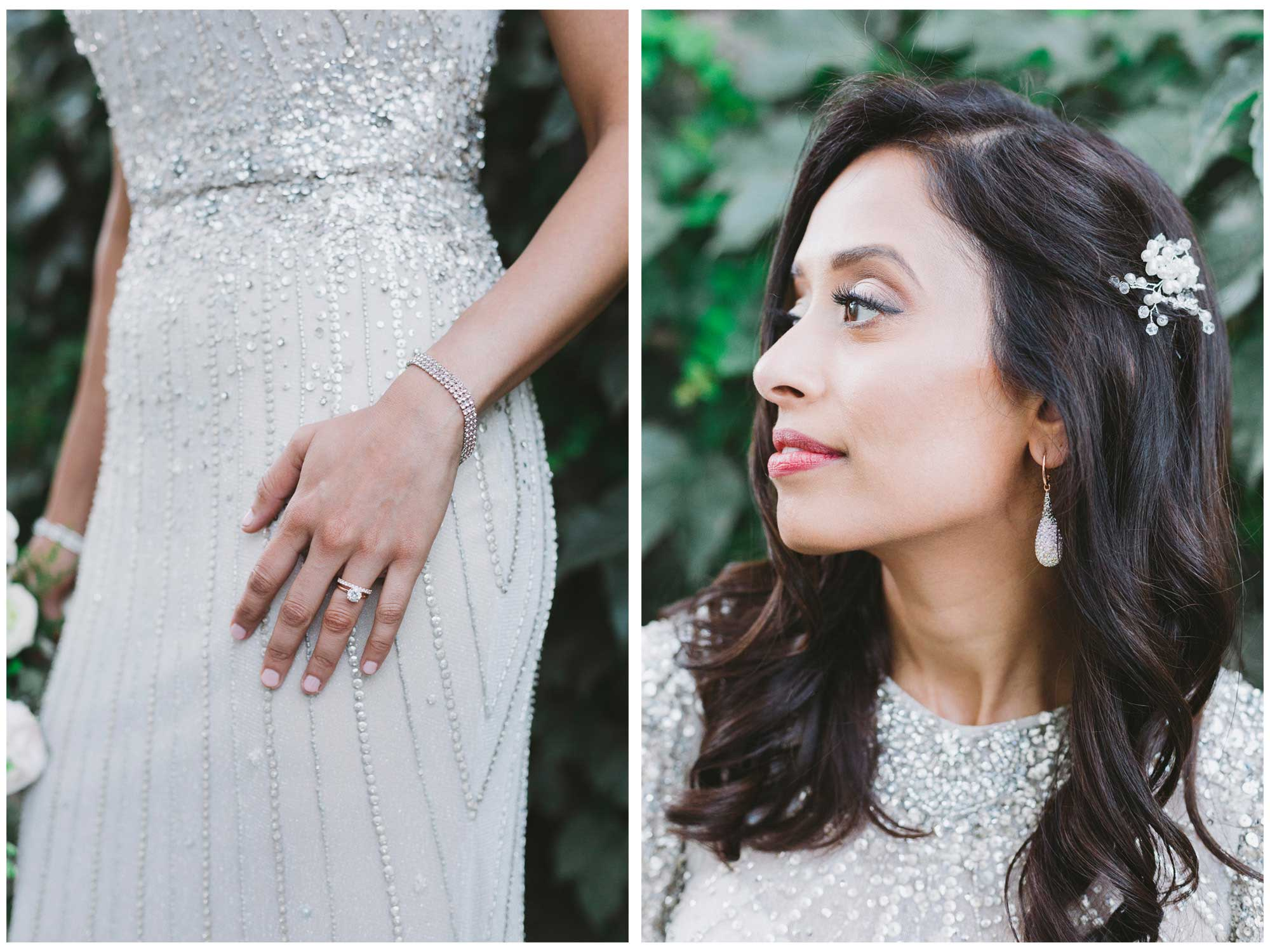 Bridal Portrait in Cabbagetown