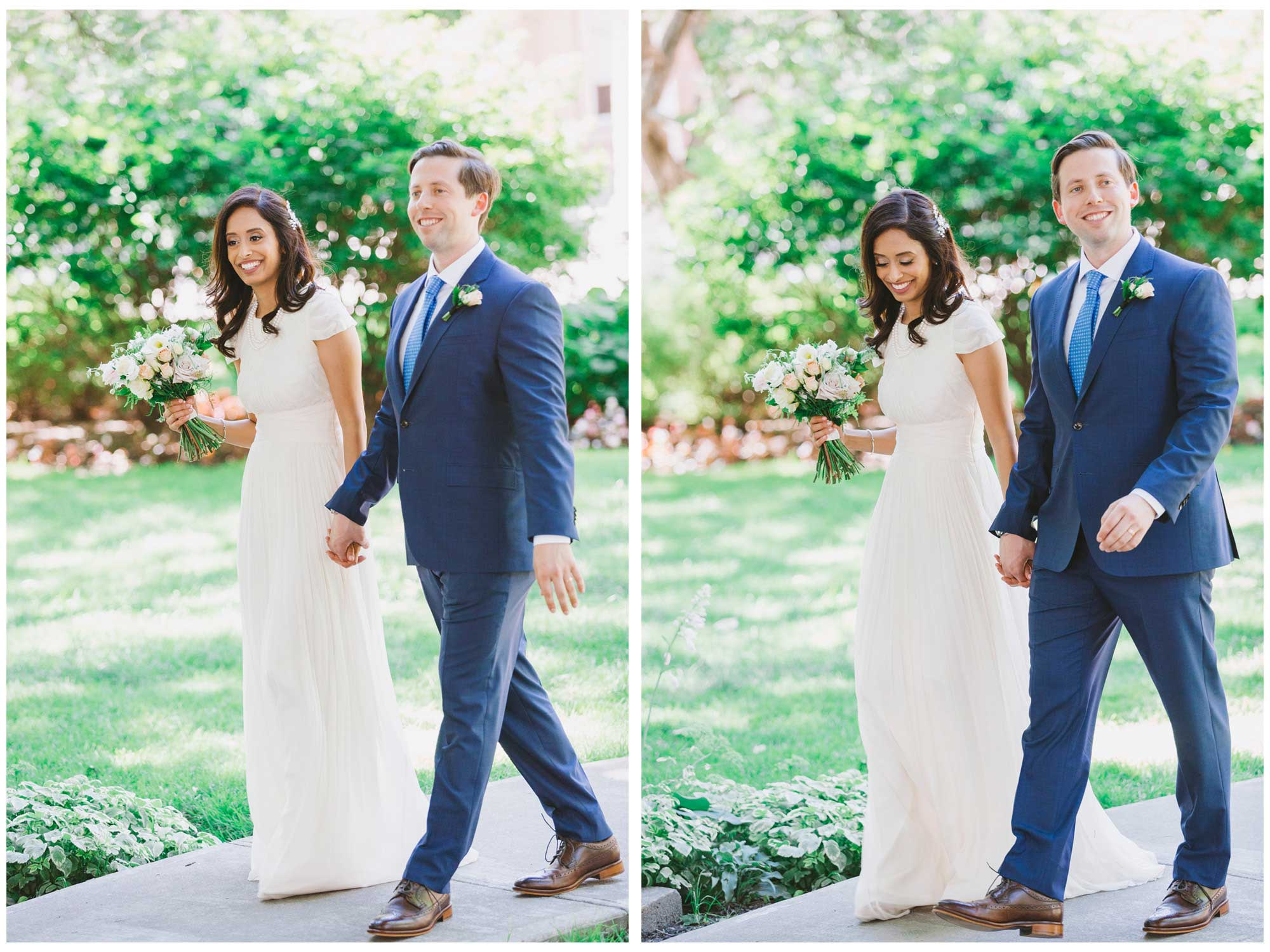 Bride and groom photos at Osgoode Hall