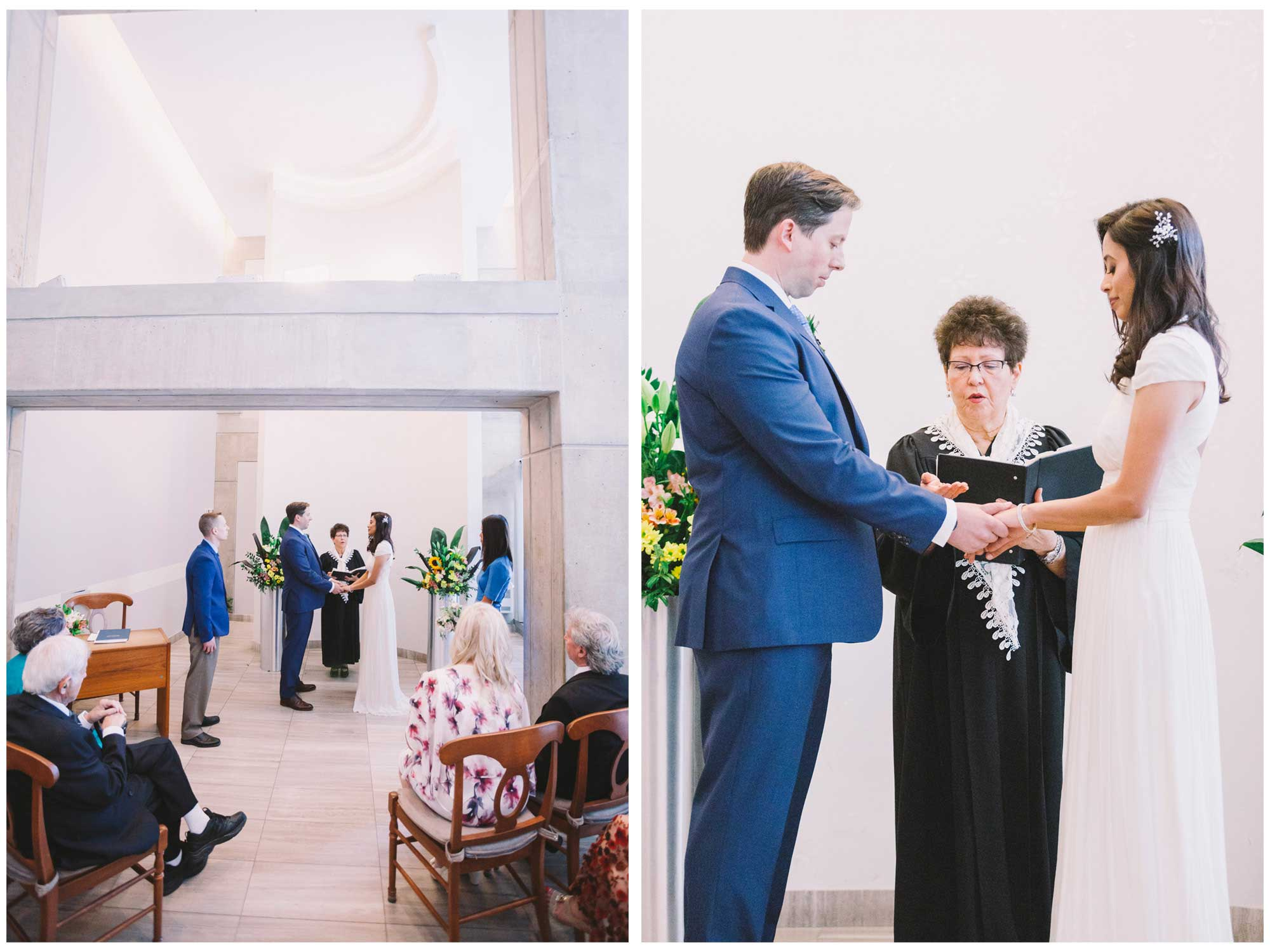 Ceremony at Toronto City Hall Wedding
