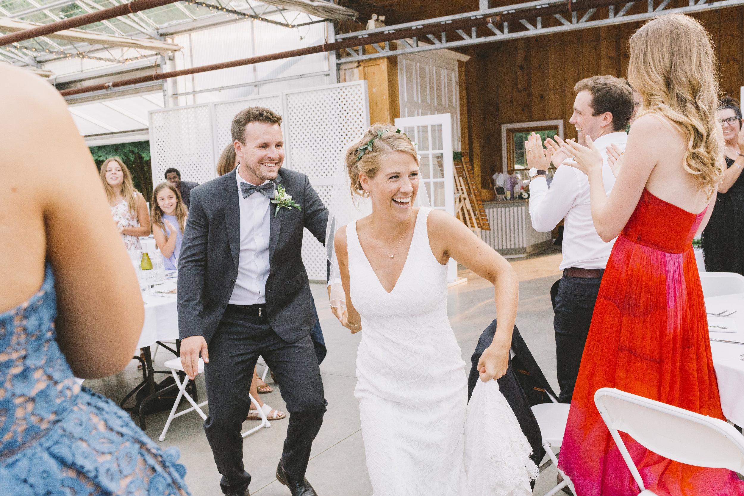 Wedding Reception at Drysdale's Tree Farm