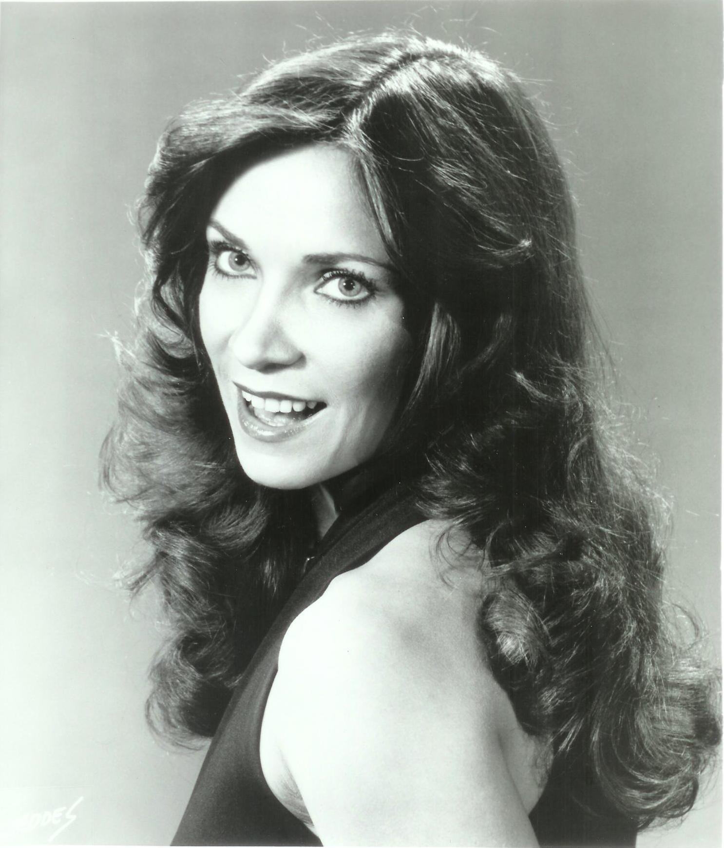 Kathy at the beginning of her singing career.