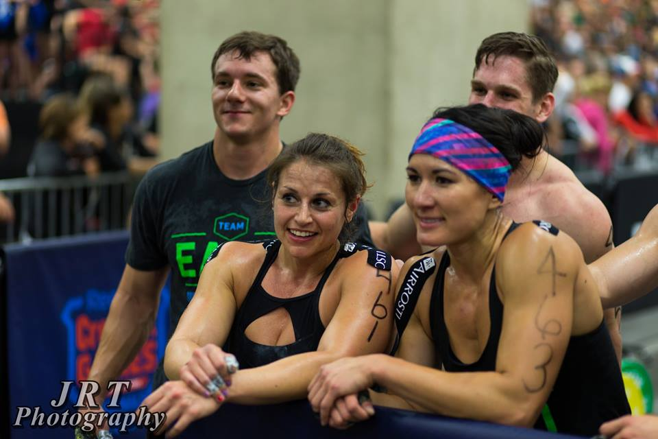 2015 EaDo Elite Regional team after a fourth place finish on WOD 2 at the South Regional    Photo Credit: JRT photography