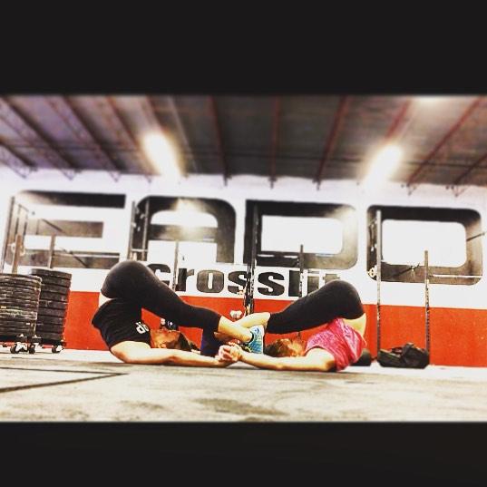 EaDo Elite athletes working on mobility!