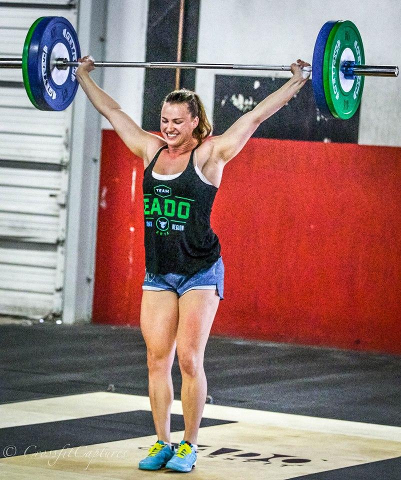 EaDo Elite Athlete Camzin hitting a 165# Snatch    Photo Credit: Sierra Prime