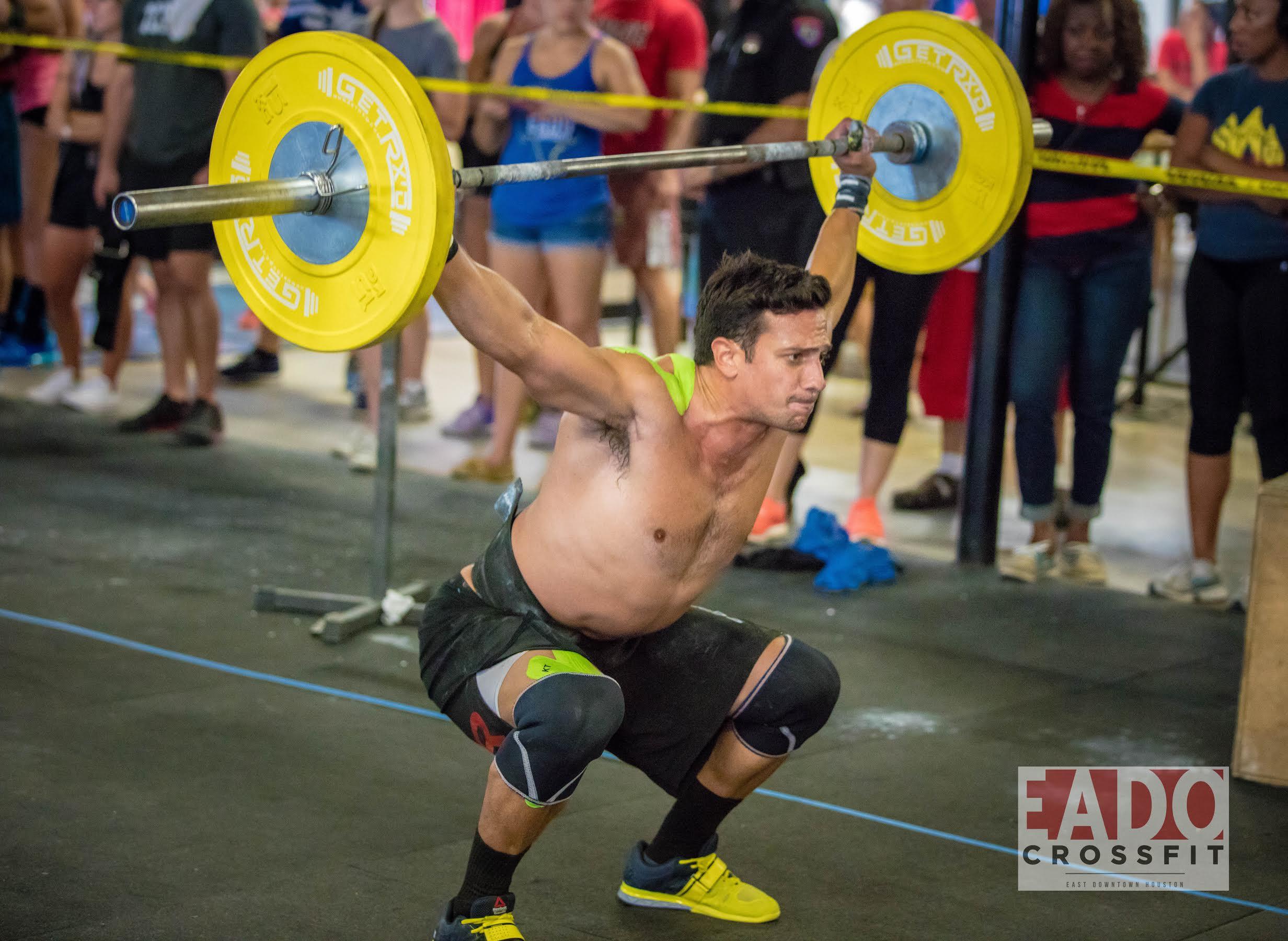 EaDo Elite Athlete and coach Shane Rojas competing at Team SuperFit Houston.    Photo Credit:  Sierra Prime