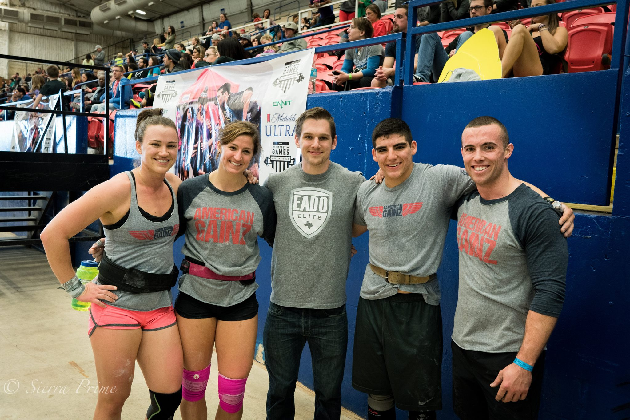 Team EaDo CSCF after the final event of day 1 of the fittest games  Photo Credit: Sierra Prime