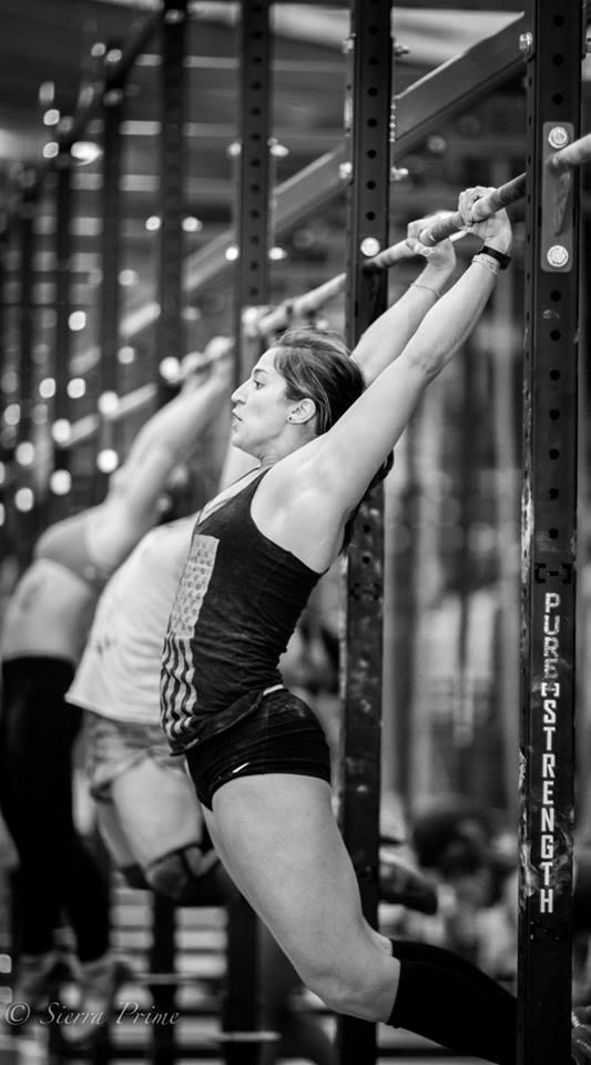 EaDo Elite Athlete Sara Fish during the Fittest games  Photo Credit: Sierra Prime