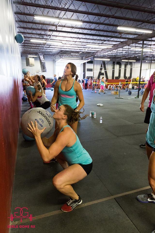 EaDo Elite Athletes during girls gone RX this past October