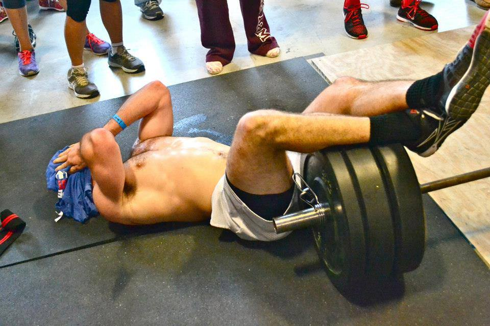 Kevin's first CrossFit Competition.