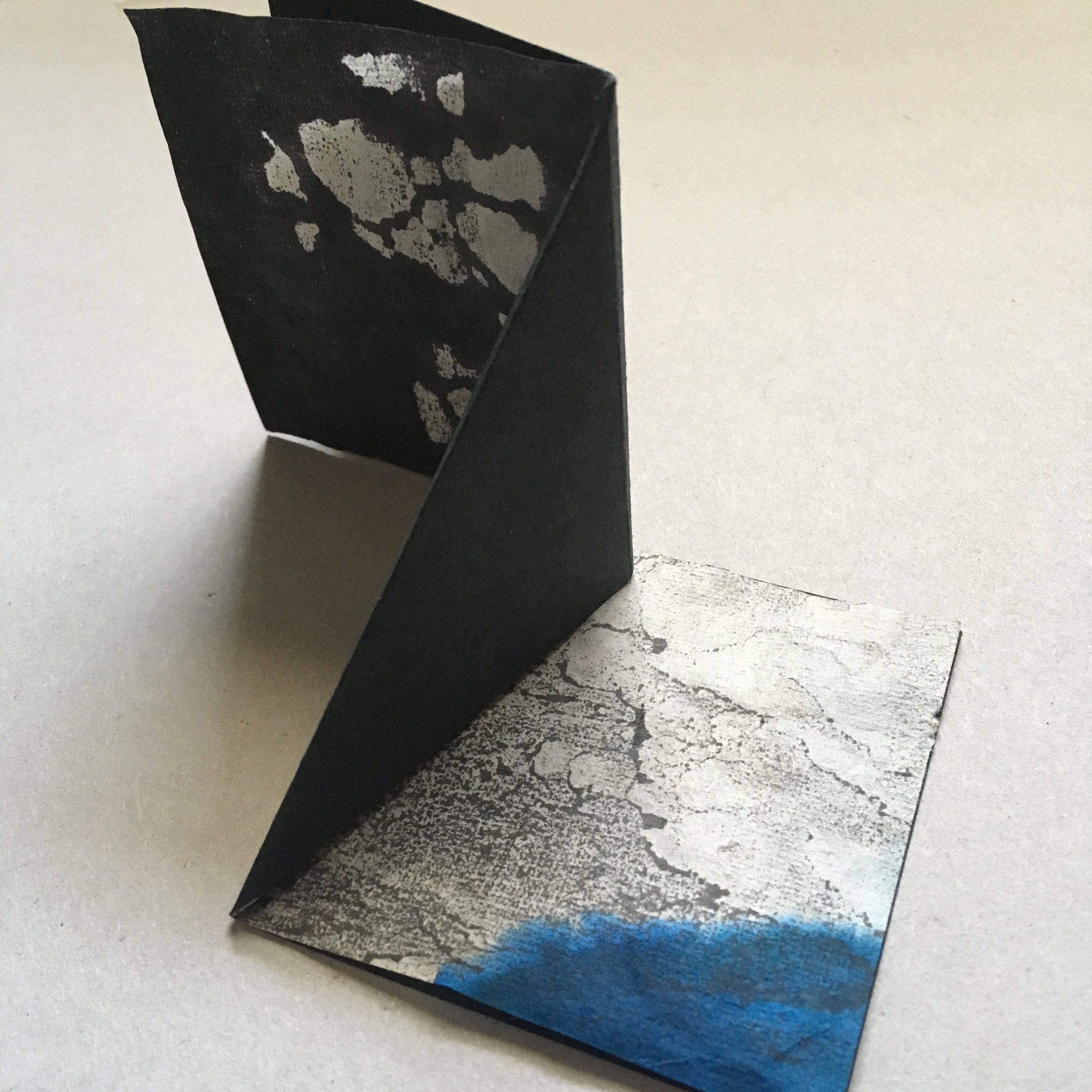 Treading the fine line… - between book and sculptural object as vessel for mark making.