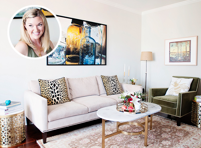 Rue Magazine January 2015 - At Home with Lauren Wakefield of Ryder Sloan Events //Photographed by Angie Silvy
