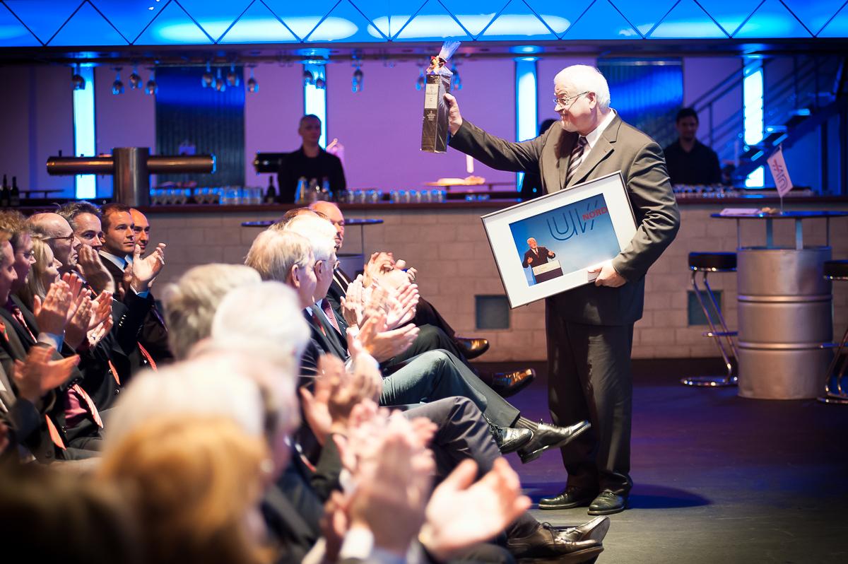 Unternehmerverband Nord, Veranstaltung mit Harry Peter Carstensen, Magnushall Hamburg