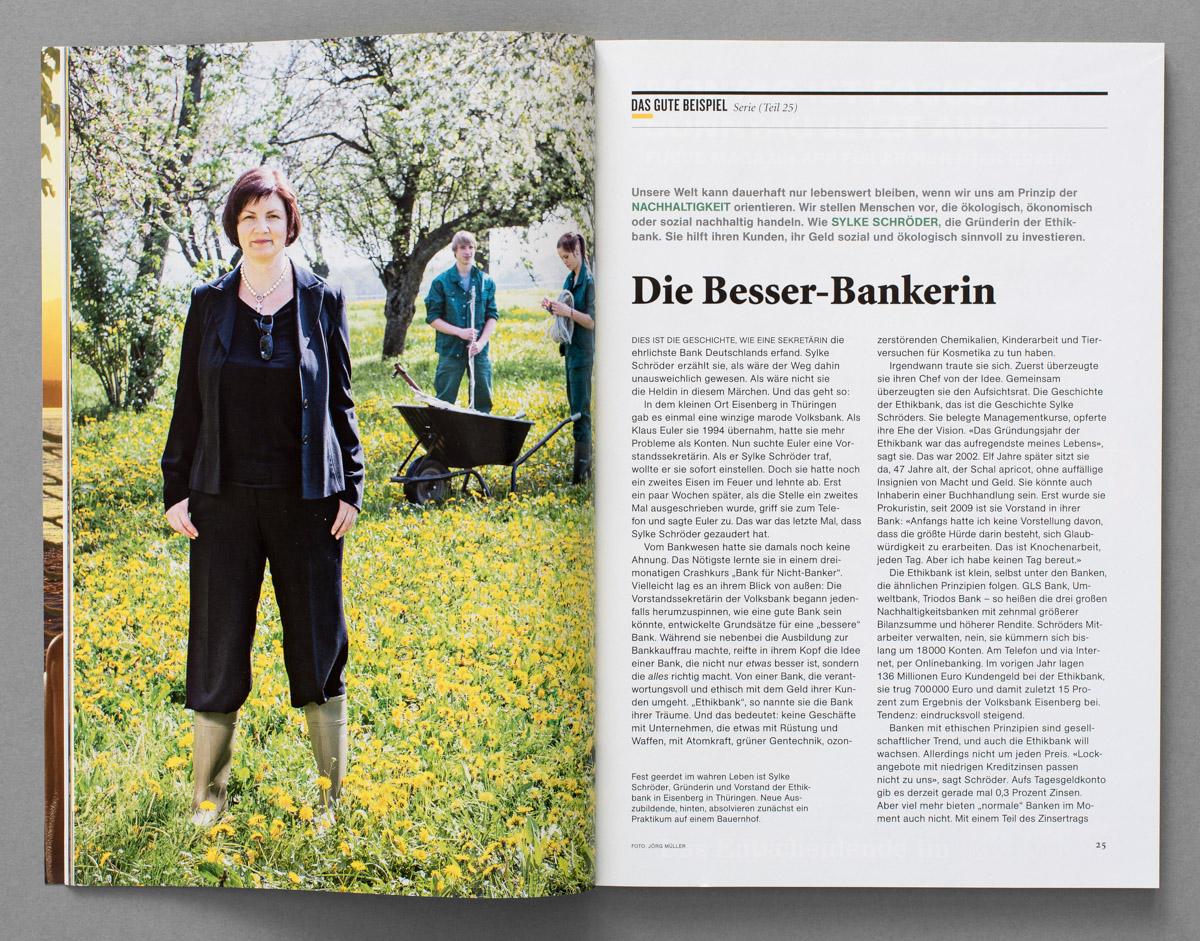 National Geographic, Porträt Sylke Schöder