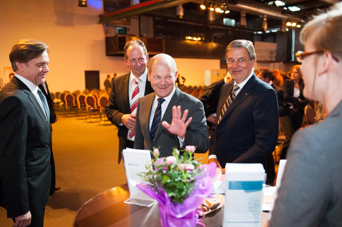 Unternehmerverband Nord, Veranstaltung mit Hamburgs Bürgermeister Olaf Scholz