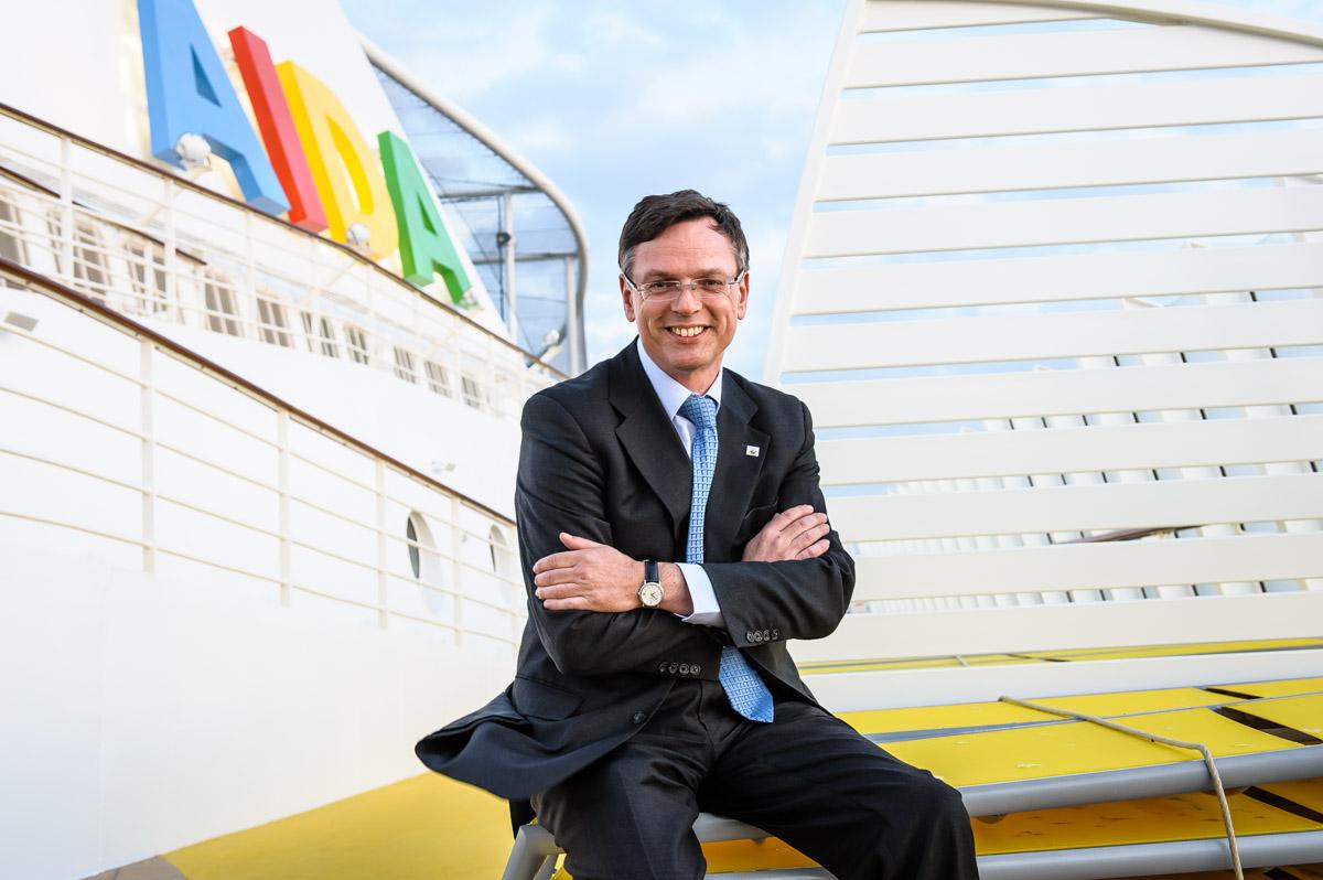 Michael Thamm, CEO der AIDA-Cruises - für DER SPIEGEL