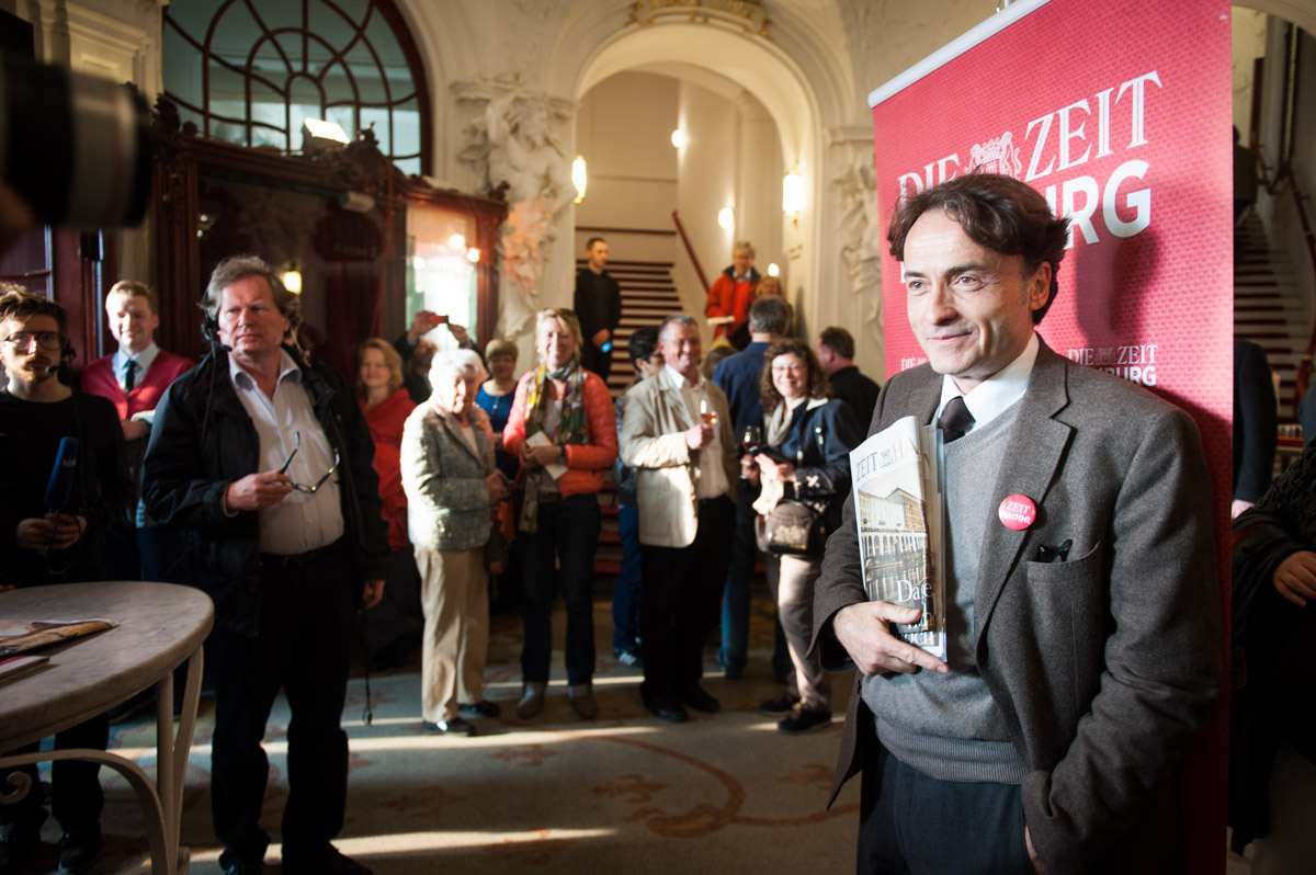 DIE ZEIT, Veranstaltung mit Giovanni di Lorenzo und Helmut Schmidt, Deutsches Schauspielhaus Hamburg