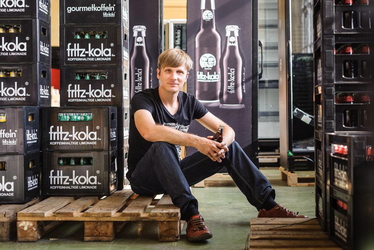 Mirco Weigert, Geschäftsführer von fritz-kola - für DER SPIEGEL