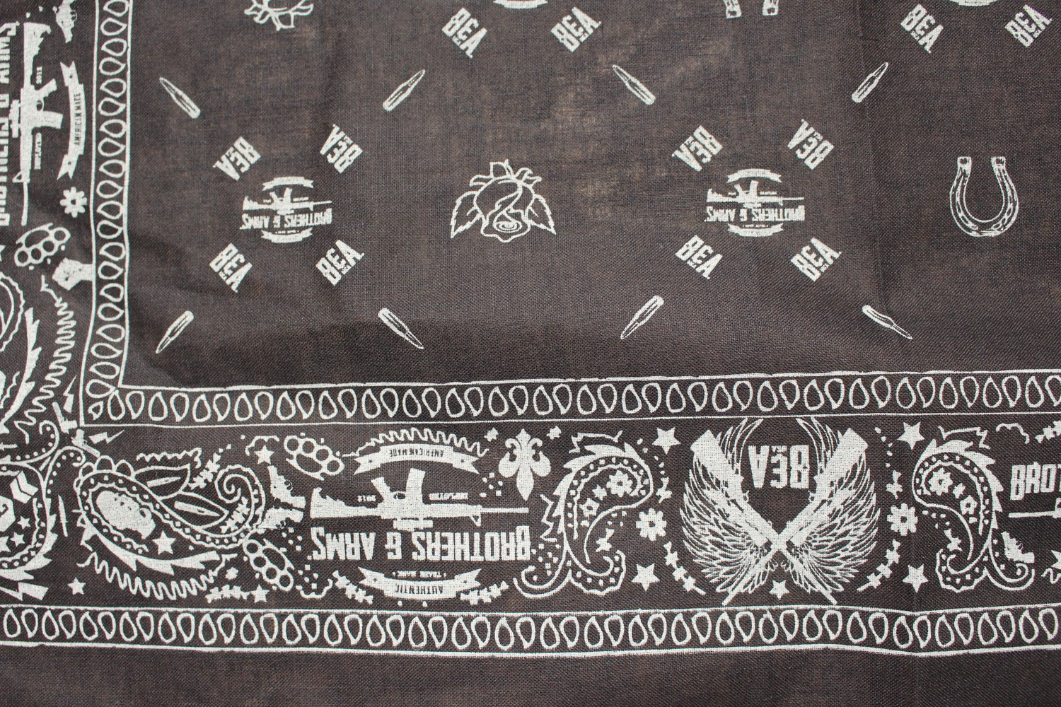 BROTHER OF THE WIND BANDANA BLUE