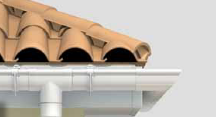The conclusion is clear: using PVC rain gutters is the most environmental-friendly way of collecting your rain water.