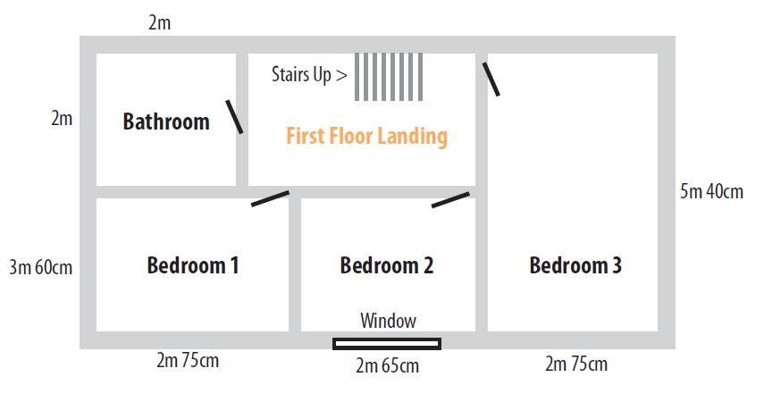 Mallard Cottage First Floor Layout Plans