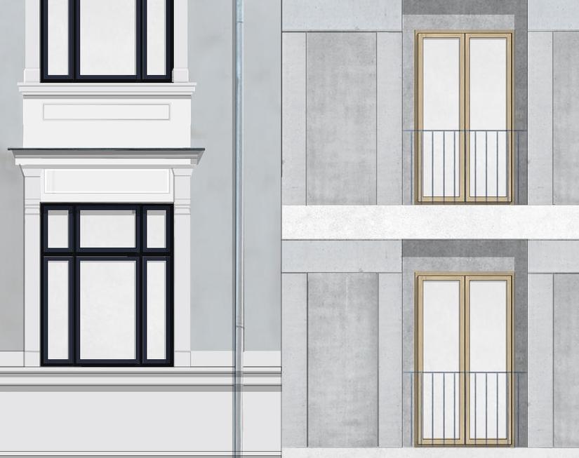 Collage: fasadedetalj