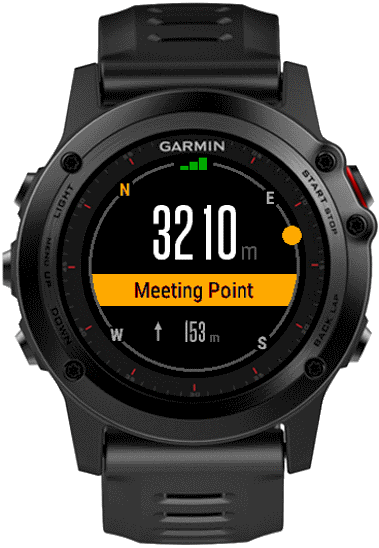 Waypoints   Connect IQ widget for Garmin watches for quick and easy waypoints navigation