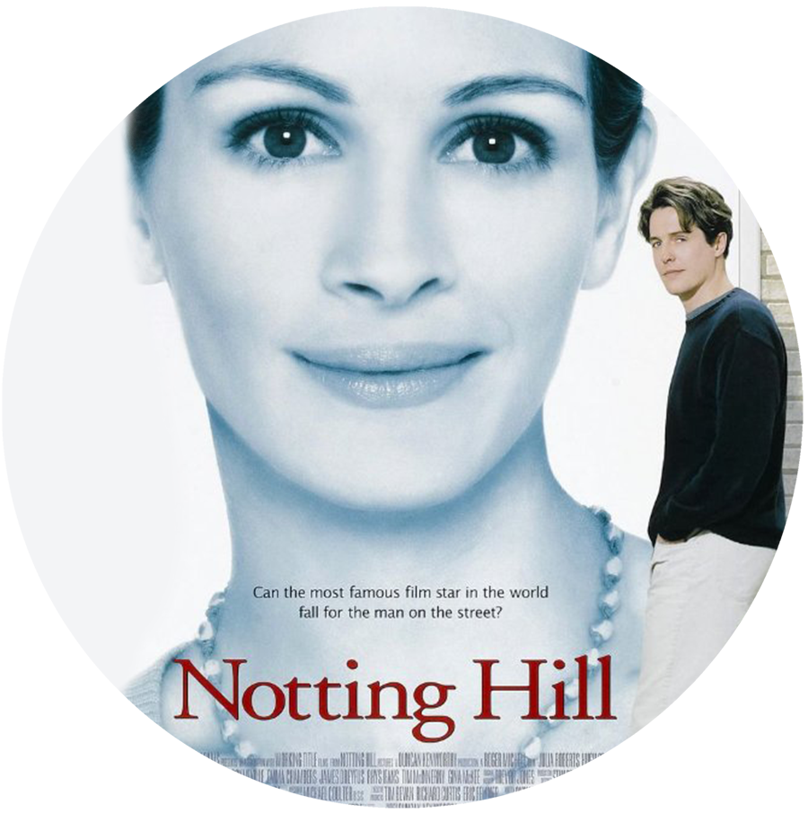Notting Hill:Hugh Grant had to make an appearance right!