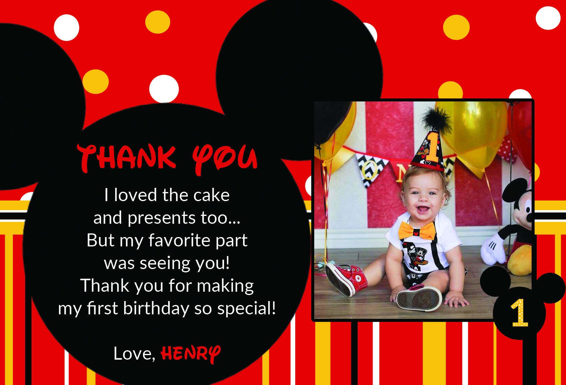 Birthday Thank-You