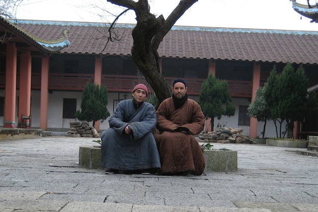 Ted and Linlin at Zhenru.jpg