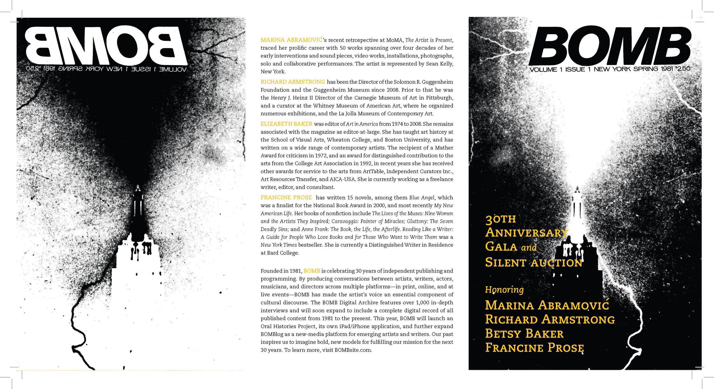 Bomb Magazine