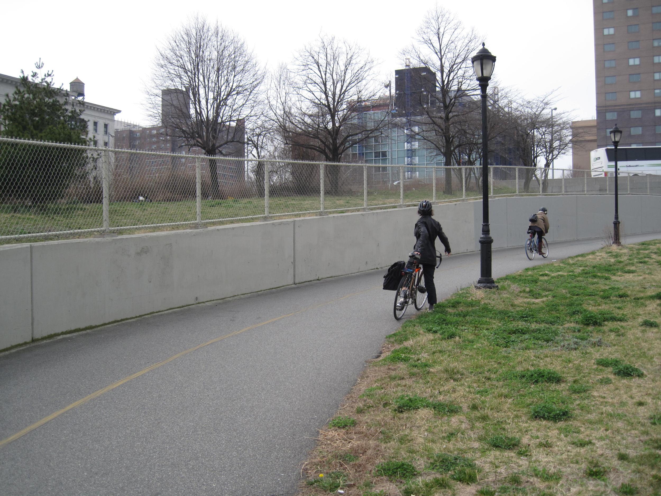 Manhattan Bridge Bicycle Path Mural