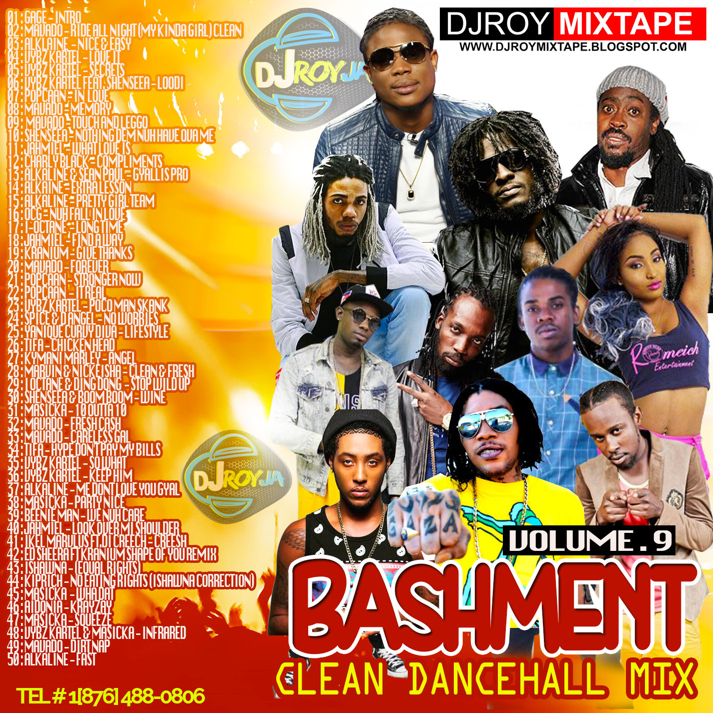 DJ ROY BASHMENT CLEAN DANCEHAll MIX VOL.9.jpg
