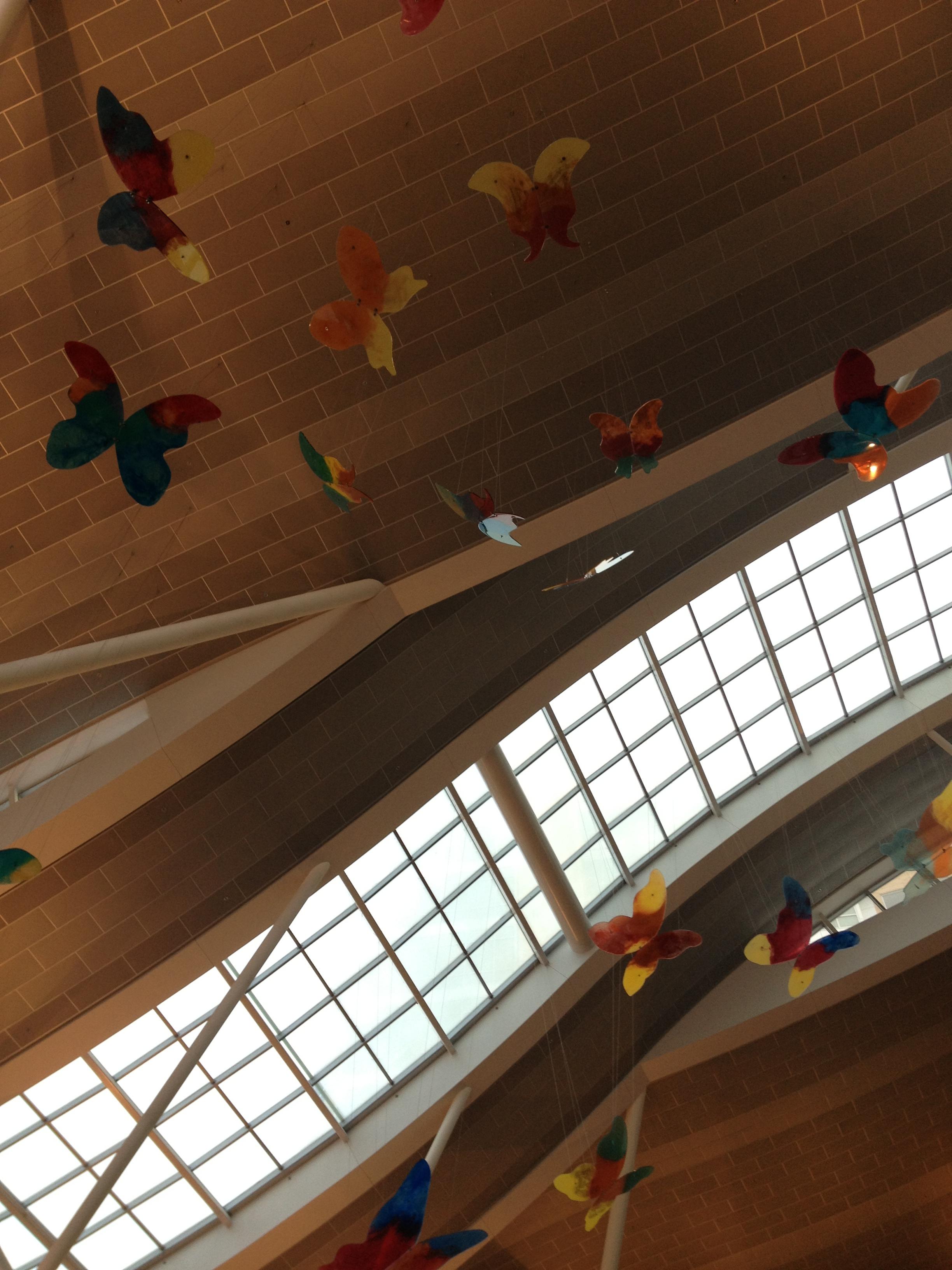 OKC Children's Hospital atrium