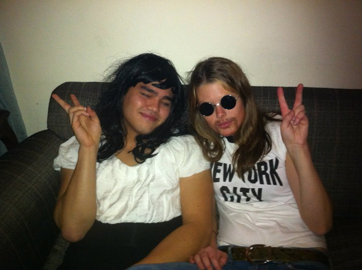 Lily Borghi--John Lennon (with Yoko Ono)