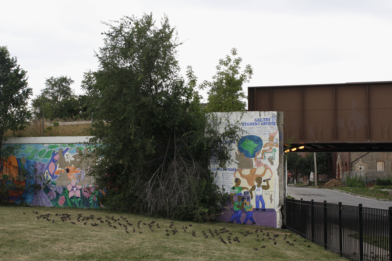 Mural at Elihu Yale Elementary
