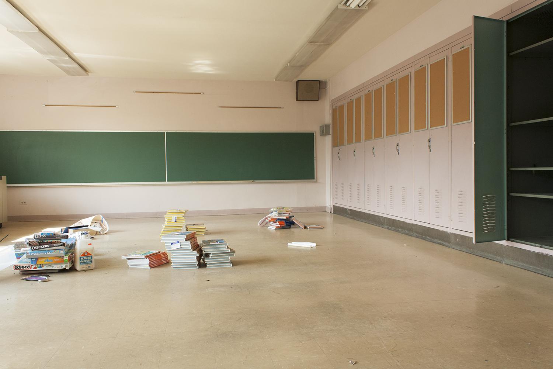 Classroom, Courtenay Elementary