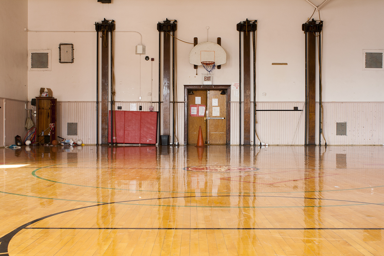 Gymnasium, Graeme Stewart Elementary