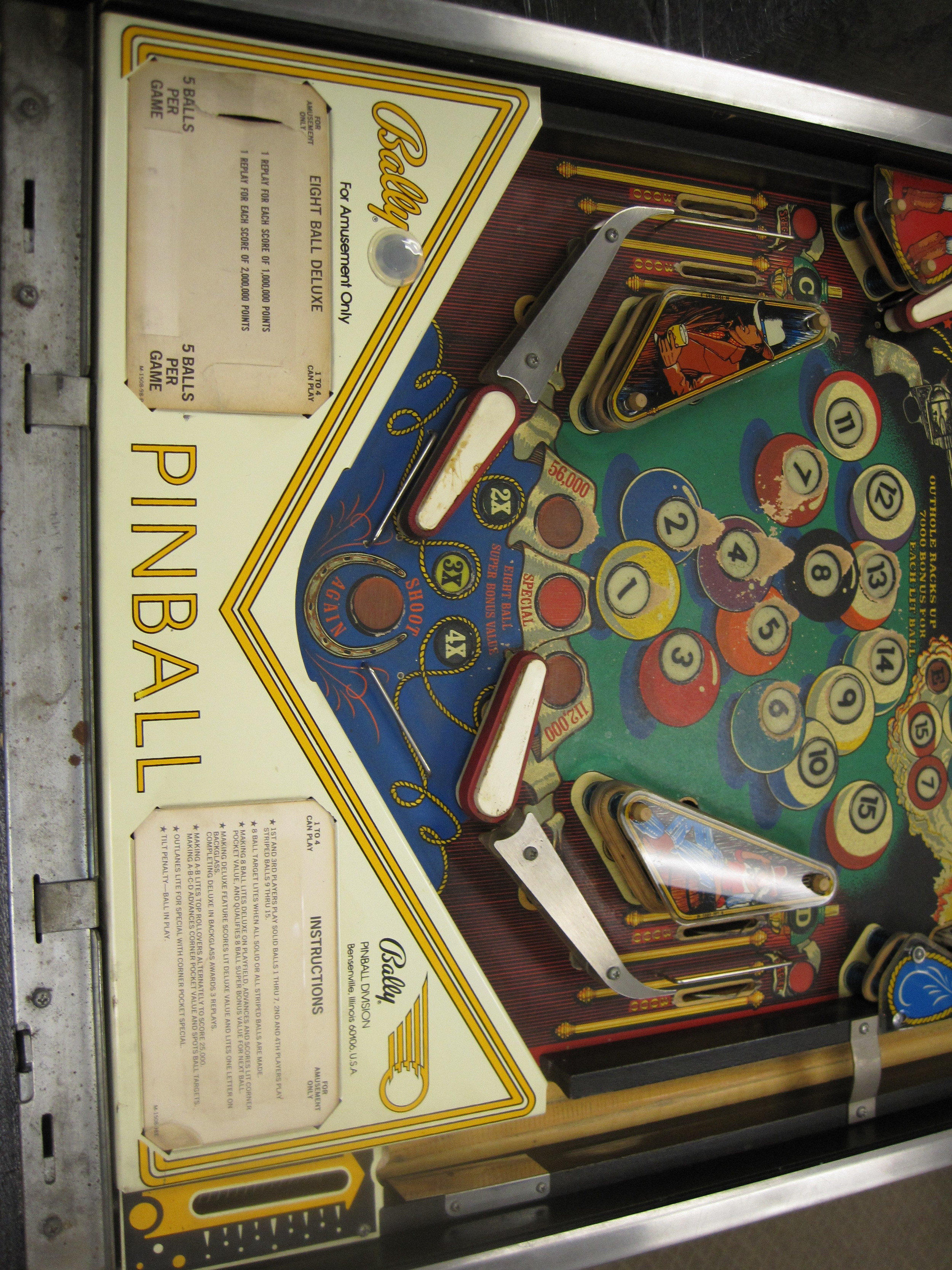 Lower Playfield (Before)