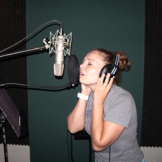 In the studio. Nashville, TN!