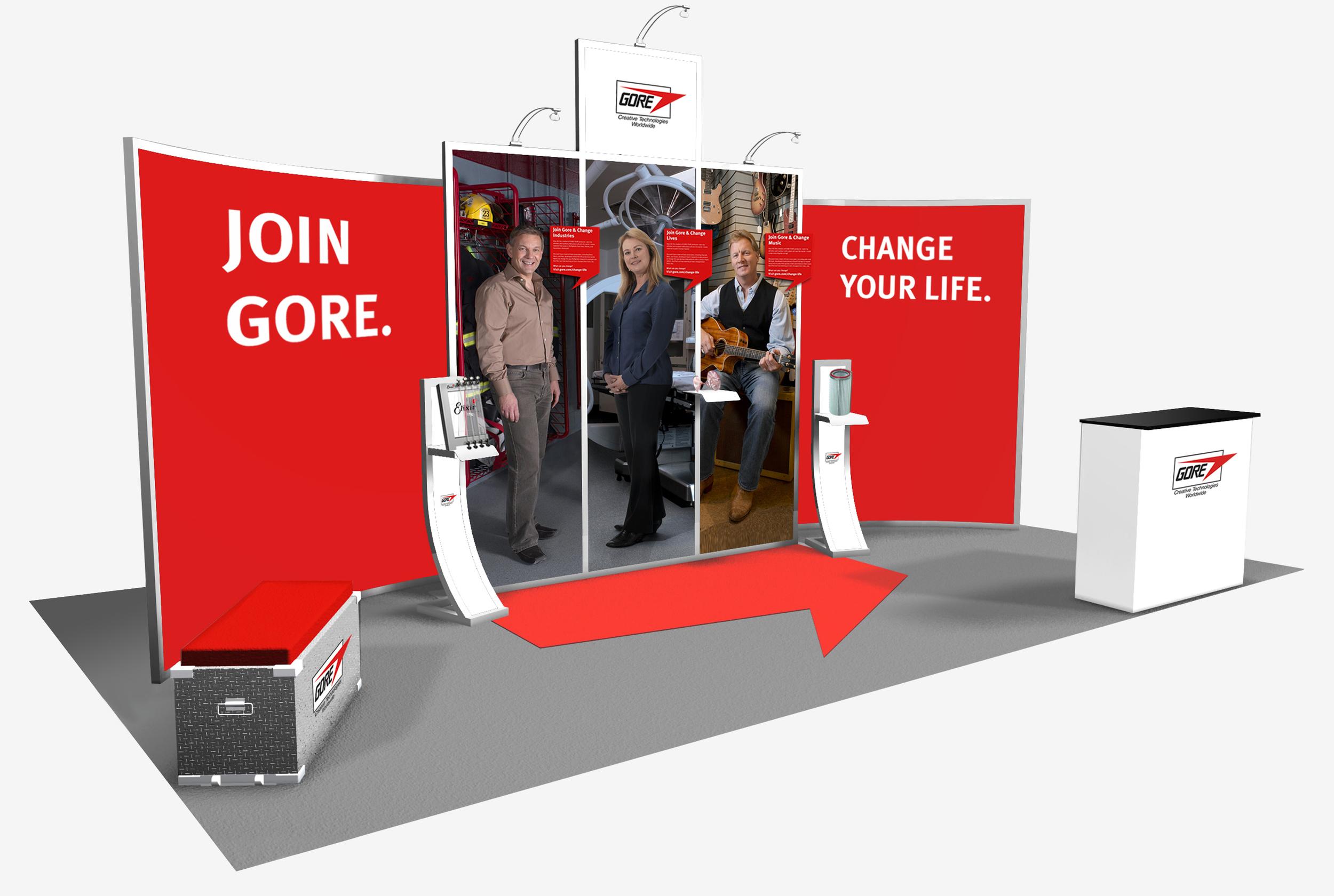 Gore employer brand exhibit